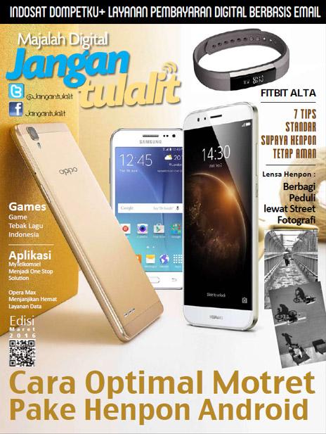 Majalah Digital Jangan Tulalit Edisi Maret-2016