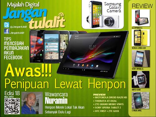 Cover JT Edisi Mai 2013