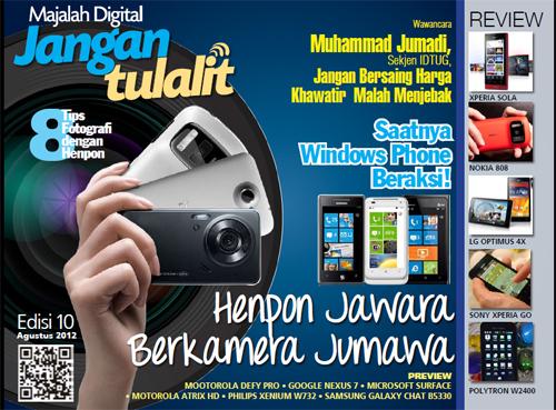Jangan Tulalit - Agustus 2012