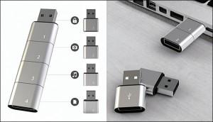 amuba modular USB (www.boundbytech.com)