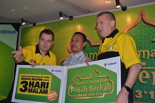 Indosat : GRATIS Nelpon 3 Hari 3 Malam