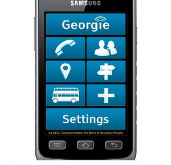 Photo of Georgie: Smartphone untuk Tunanetra