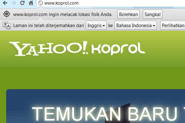 Yahoo! Menutup Jejaring Sosial Koprol