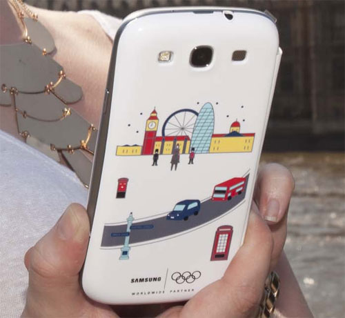 Photo of Samsung Special Edition Olympics Flip Cover for Galaxy S III