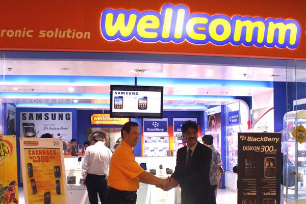 "Selular Group & Wellcomm kembangkan jaringan ""Retail Baru"""