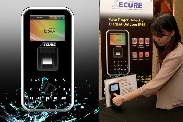 Mesin fingerprint sekaligus akses kontrol