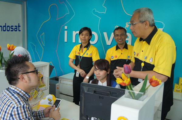 Komitmen Indosat untuk focus pada pelanggan