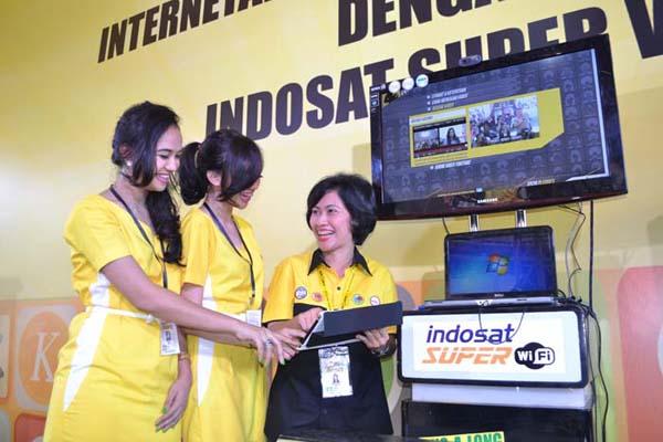 Indosat Luncurkan Layanan Super WiFi