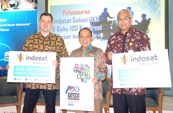 Indosat Dorong Pengembangan UMKM