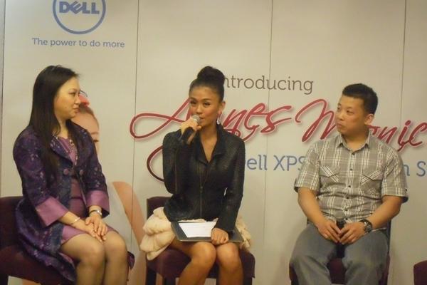 Agnes Monica jadi bintang Iklan Dell XPS Indonesia