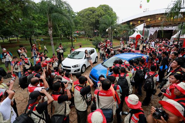 Kemeriahan acara Canon Photomarathon Indonesia 2012