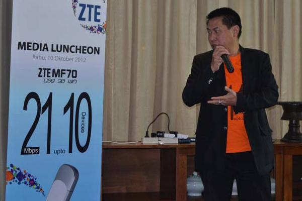 ZTE Meluncurkan MODEM 3G SEKALIGUS MiFi router