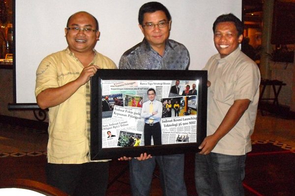 Photo of Harry Sasongko Tirtotjondro Akhiri jabatan diIndosat