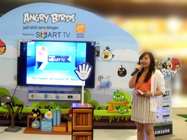 Makin Seru Main Angry Bird di Smart TV Samsung