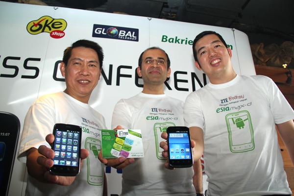 Esia Hape Fantasy, Android murah berlayar 4 inchi
