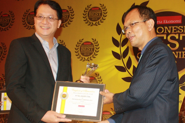 XL Raih Indonesia Best Companies 2012