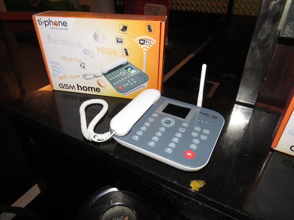 Telepon Rumah,Jaringan GSM bisa jadi hotspot