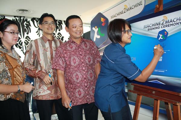 Pengembangan Bisnis M2M XL Raih 100 ribu pelanggan