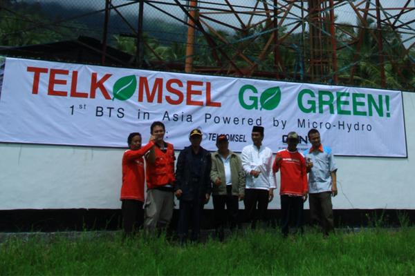 """""""Green Power For Mobile"""" dari TELKOMSEL"""
