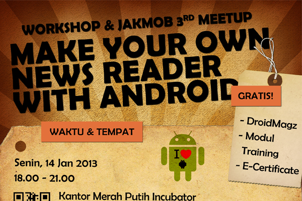 Workshop Make Your Own News Reader With Android