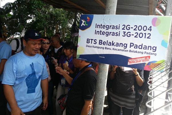BTS 3G di Pulau Belakang Padang Layani Masyarakat Perbatasan