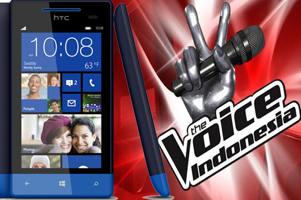 HTC Indonesia Dukung The Voice Indonesia