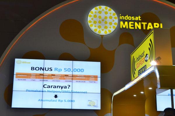 Indosat berikan Paket Hemat Smartphone dan Bonus