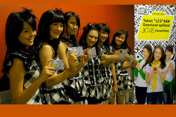 Layanan Mobile Content JKT48 dari Indosat
