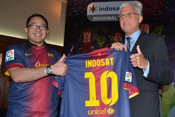 Photo of Indosat Teken Kontrak Exclusive Dengan FCBarcelona