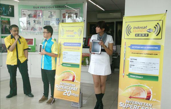 NIKMATI INTERNET SUPER CEPAT DENGAN INDOSAT SUPER WiFi