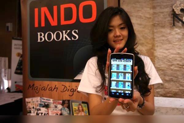 Majalah Digital di indobooks bisa dibeli pakai pulsa Telkomsel