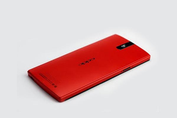 Oppo Find 5 hadir dalam warna Merah