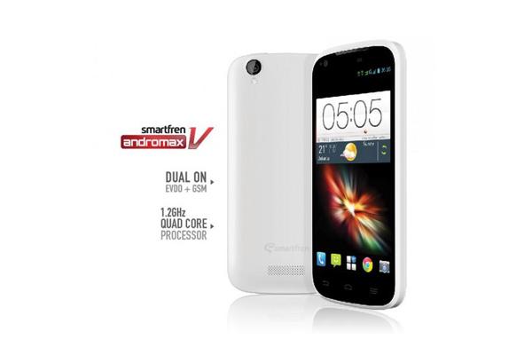 Smartfren Bagikan 100 Smartphone Andromax V Gratis