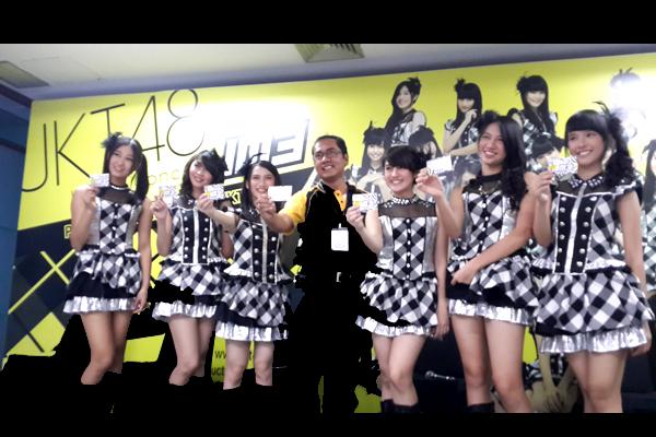 Indosat IM3 memberikan Layanan Mobile Content JKT48