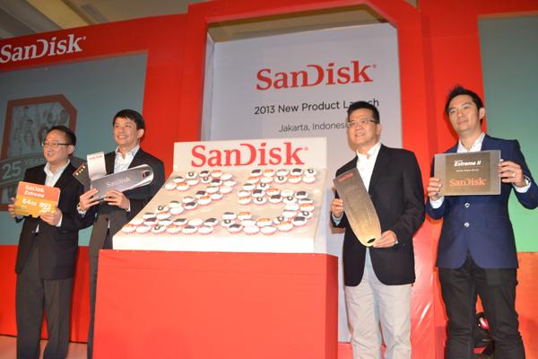 Sandisk Extrem Berkecepatan Baca 80 MB per Detik