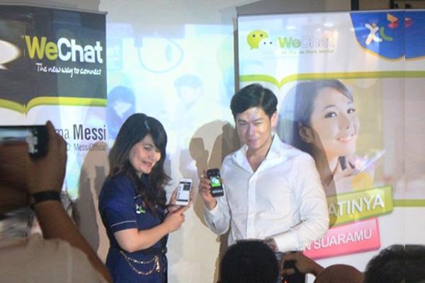 Paket data gratis menggunakan WeChat dari XL