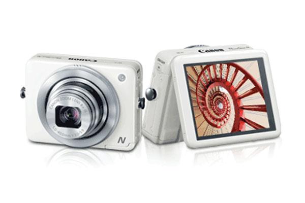 Canon PowerShot N, Kamera 12 MP Koneksi WiFi