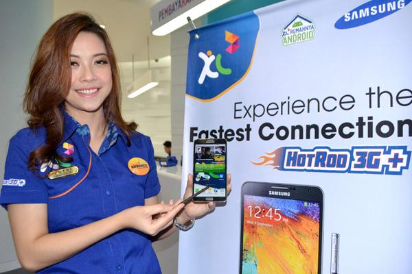XL Kasih kemudahan memiliki Samsung Galaxy Note 3
