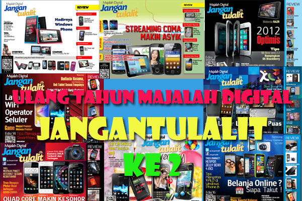 Ulang Tahun Majalah digital Jangantulalit yang ke 2