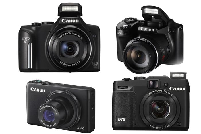 Lima  Kamera Saku Digital Canon PowerShot Berteknologi Mutakhir