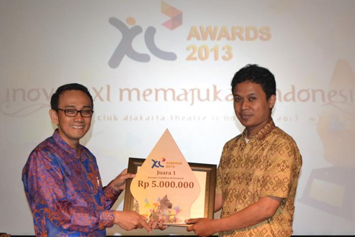 Lebih dari Rp.192 juta untuk  pemenang  XL Awards 2013