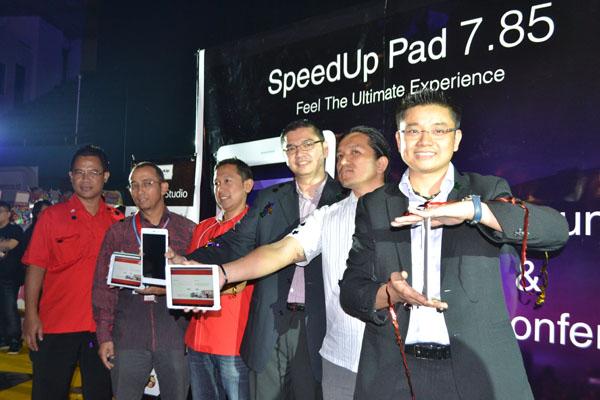 Tablet SpeedUp Pad 7.85, Tipis dan bertenaga