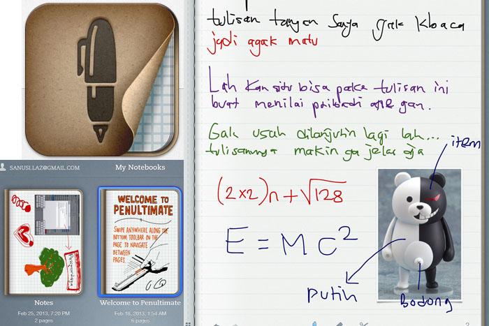 Aplikasi Praktis dan Instan Untuk tulisan Tangan