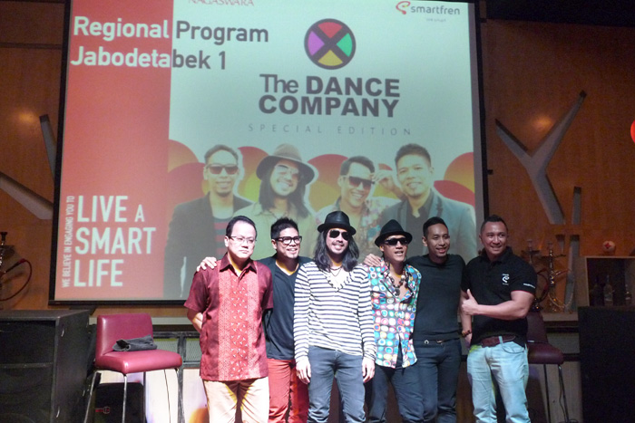 Smarfren & Nagaswara  Hadirkan Album The Dance Company
