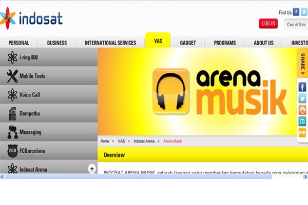 Indosat  Tegaskan Dukungan Hak Cipta Musik