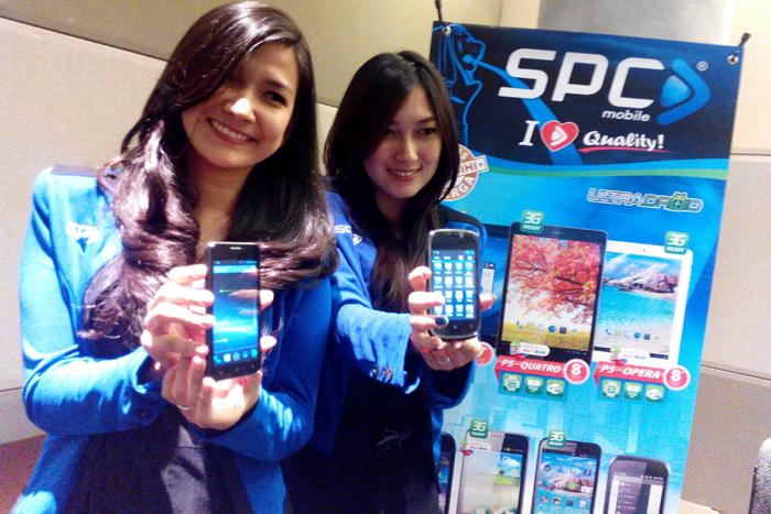 SPC keluarkan Produk Smartphone  Quad core dengan harga sejutaan