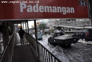 Telkomsel banjir Jakarta
