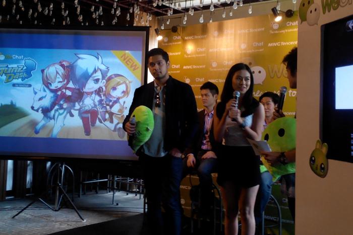 Berbagi dan Bermain Game di WeChat