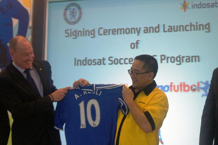 Indosat Menjadi exclusive Official Telecom Partner untuk Chelsea
