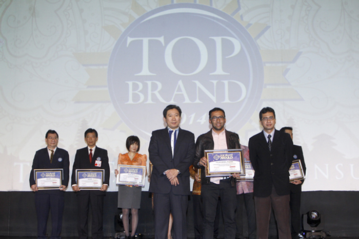 Telkomsel Raih 4 Penghargaan Top Brand Award 2014